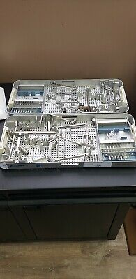 Zimmer 4801-45-20 Small Fragment  Instrument Set Orthopedics Instruments Lot 2