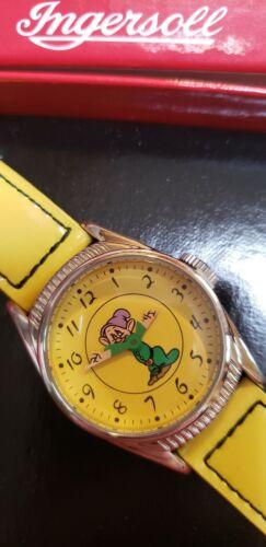 Timex L.E. Dopey Dwarf Ingersoll Birthday Disney Watch 2000