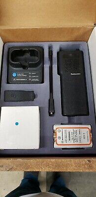 Nos Motorola Radius P50 5 Watt 2 Channel Unused In Box With Charger - Ships Free