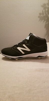 192735fd665e New Balance Men's M4040v3 Mid Metal Baseball Cleats Size 16