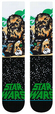 Chewbacca Star Wars Stance Socks Large Men's 9-12 Thorwback SW Han Solo