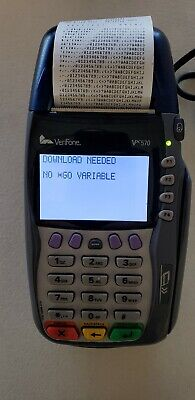 Verifone Vx570 Credit Card Terminal Vx 570 Omni 5750 M257-050-04-na1