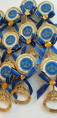 24pcs Baby Shower PRINCE pin-on Favors for boy - Baby Shower For Boy