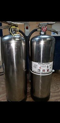 Water Fire Extinguisher 2.5 Gal Water. Wow Look At All The Xtras