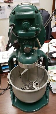 Hobart Vintage 10 Quart C210 Stand Mixer Used Good Condition Cool Antique 1597
