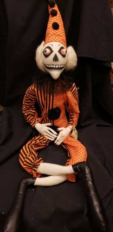 Morgue Sale: Halloween Joe Spencer doll BAZZEL THE CLOWN Retired mint New