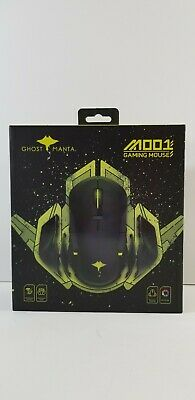 Ghost Manta 2.4G Wireless/Wired Gaming Mouse Ergonomic Game Mice 8 Buttons M001