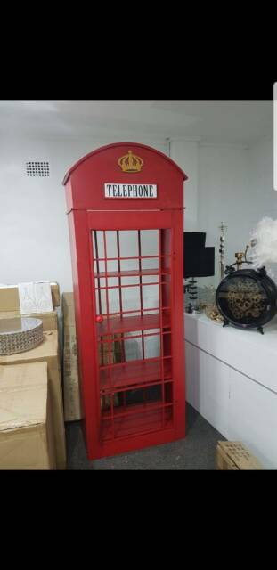1 98meter high London Phone Booth UK Iconic Box 3D Full size