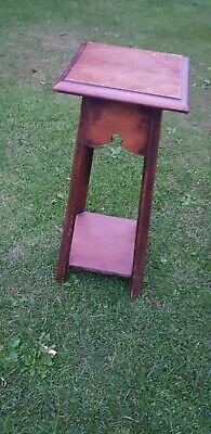 Vintage Plant Stand Wooden