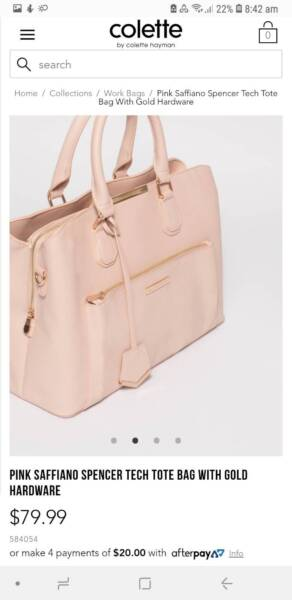 Selling Colette spencer tech tote  4a1663ed42675