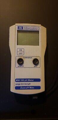 Milwaukee Mw100 Smart Portable Ph Meter Mw100tester