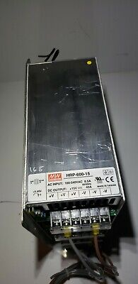 Mean Well Switching Power Supply Hrp-600-15 15v 43a 4 Stack
