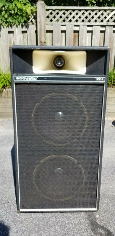 Acoustic Control Corporation 201 Speaker Cabinet w Altec 418B speakers