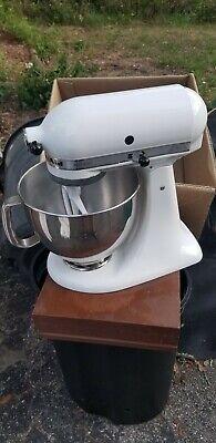 KitchenAid 5 Quart Artisan Stand Mixer KSM150PSWH White
