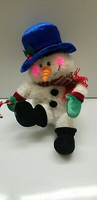 Gemmy Plush Frosty The Snowman Animated Singing Feet Do Not Move
