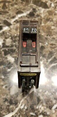Circuit Breaker Wadsworth Tandem 1-pole 20 Amp 120240v Plug-in W Metal Tabs