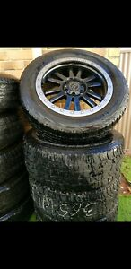 4x4 WHEELS AND TYRES SUIT MAZDA BT50, FORD RANGER, COLORADO ETC