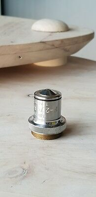 Soviet Vintage Objective Lens Apohr F-2.79 A-1.30 For Microscope Lomo Zeiss