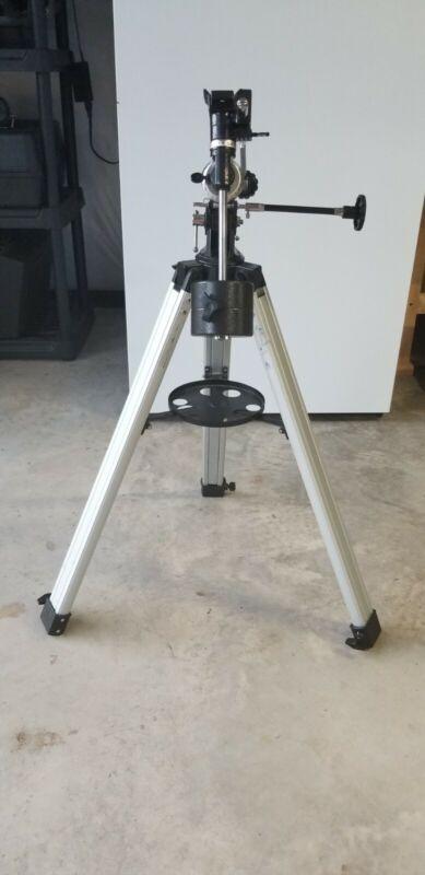 Used Celestron Manual German Equatorial Telescope Mount With Tripod