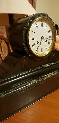 Antique  French Clock S Marti at Cie-Medaille de bronze 1860