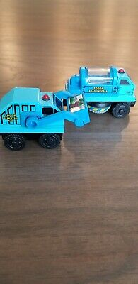 Learning Curve Wooden Thomas Trains Street Sweeper Rubbish Truck NEW