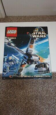 Lego 7180 complete STAR WARS B WING FIGHTER rebel control center VINTAGE