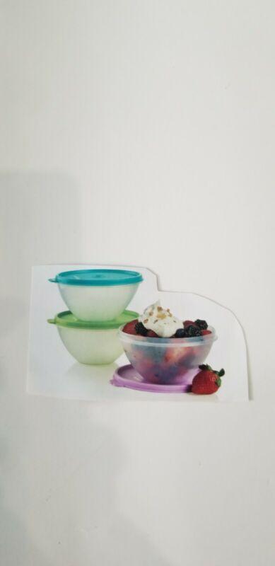 Tupperware Small Wonderlier Bowls Set Of 3