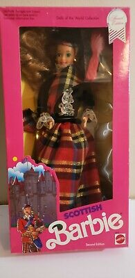Barbie Dolls of The World Scottish Scotland Special Edition 1990