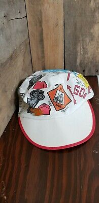 Vintage McDonalds Monopoly Game Carboard Hat Cap with -