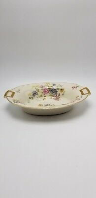 "Haviland ""Rosario"" Oval Vegetable Serving Bowl 9 7/8"""