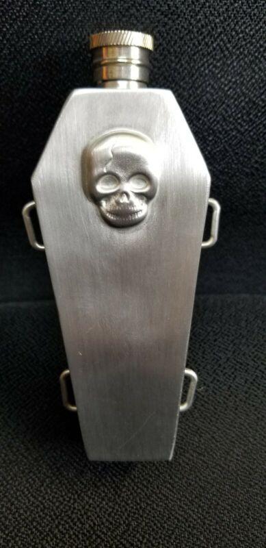 Flask Skull 4oz