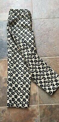 ANN TAYLOR Women's Animal Print Capri Crop Pants Size 12 P  NWT