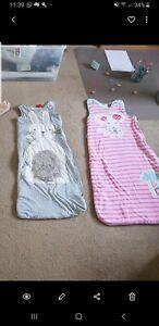 2 baby sleeping bags ergo ergopouch