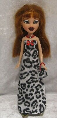 "Made to fit 9½"" BRATZ #13 Dress, Purse & Necklace Set, Handmade Doll Clothes"