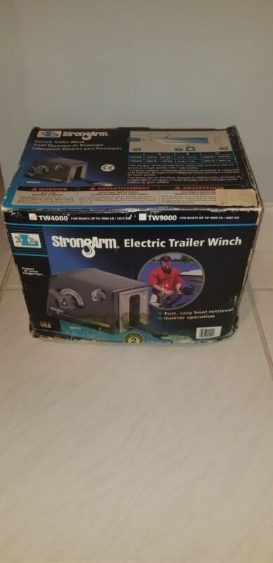 Strongarm Tw4000 Electric Trailer Winch, 2/5 hp 12VDC