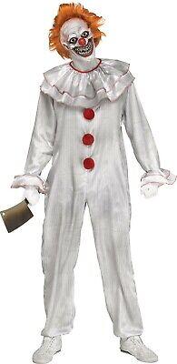 Adult Carnevil Clown Pennywise IT Costume One - Carnevil Kostüm
