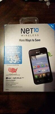 Net 10 Prepaid cell phones LG Optimus