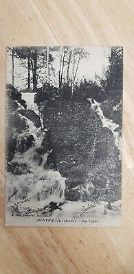 MONTMIRAIL (Marne) La Vogue vintage Postcard (1916 France) WW1 for sale  Hailsham