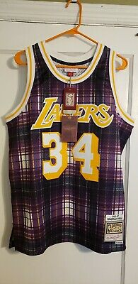 Los Angeles Lakers 96/97 Shaquille O'neal Mitchell & ness NBA Swingman Jersey