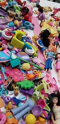Huge Doll Toy Figure Girl Princess Lot Polly Clothes Pets Accessories Dress More