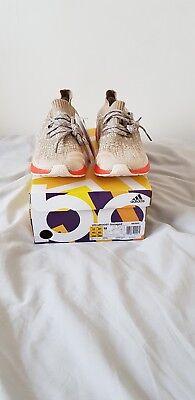 Adidas Ultra Boost Uncaged Trace Cargo Orange uk10.5 Brand New RARE NMD YEEZY