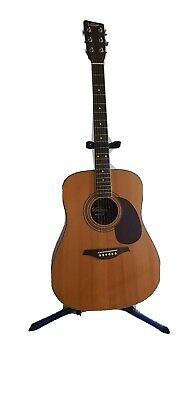 Vintage V400N Dreadnought Acoustic Guitar w/ solid spruce top