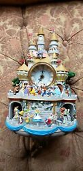 Disney Timeless Magic Cuckoo Clock  Lights Music And Motion Bradford Exchange