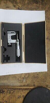 Mitutoyo Tube Micrometer .0001 0-1