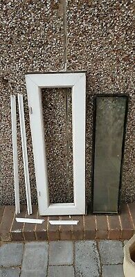 Used upvc double glazed white windows