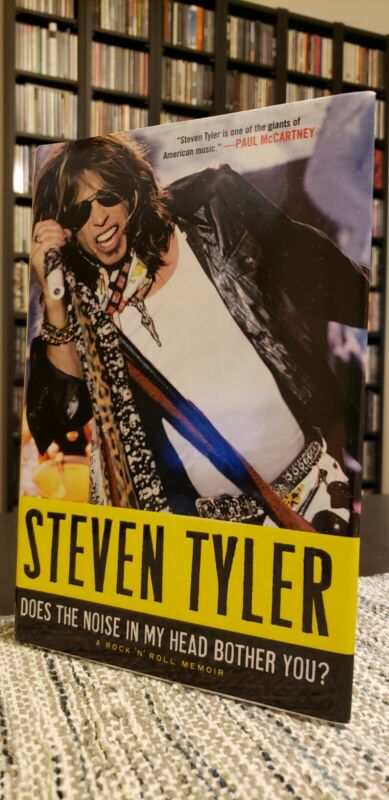 Steven Tyler Signed Autograph Does The Noise In My Head... - 1st Edition Book