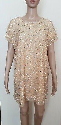LIPSY PARROT PRINT TROPICAL BODYCON DRESS UK 14  NEW RP£42 FANCY DRESS