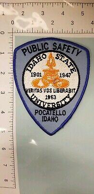Idaho State University Public Safety Patch Pocatello, Idaho  for sale  Fletcher