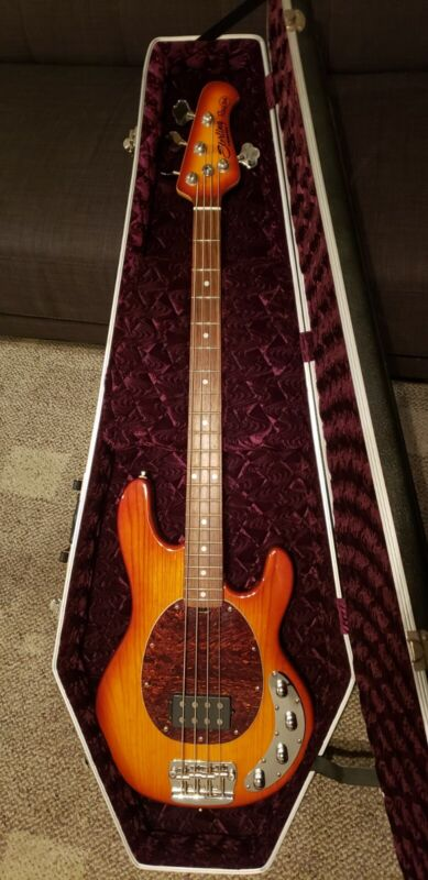 Sterling by Music Man RAY 34 Active Bass w/ HSC! EXCELLENT Condition!