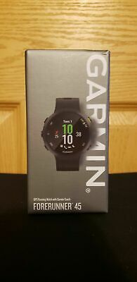 Garmin Forerunner 45 -- GPS Running and Fitness Watch - Black